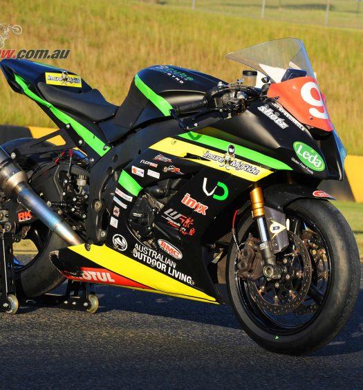 Mike Jones's 2015 ASBK Championship winning Kawasaki ZX-10R Privateer bike