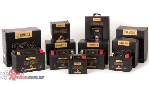 New Product: Motocell Lithium Gold batteries