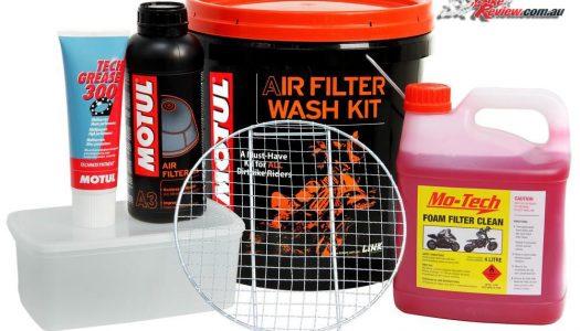 New Product: Motul Airfilter Bucket Wash Kit