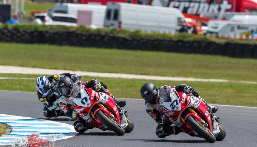 Herfoss And Stauffer Successful Weekend At 2016 MotoGP