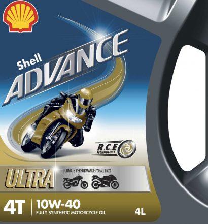 Shell Advance Ultra Motorcycle Oil