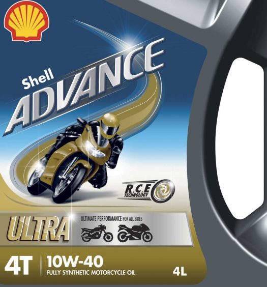 Shell Advance Ultra Motorcycle Oil