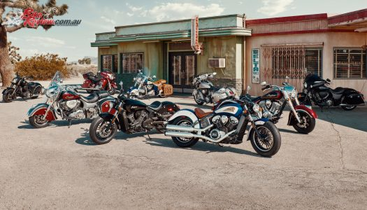 2017 Indian Motorcycle model range revealed
