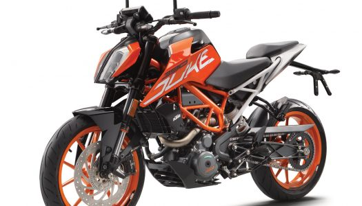 2017 KTM 390 Duke in for major update