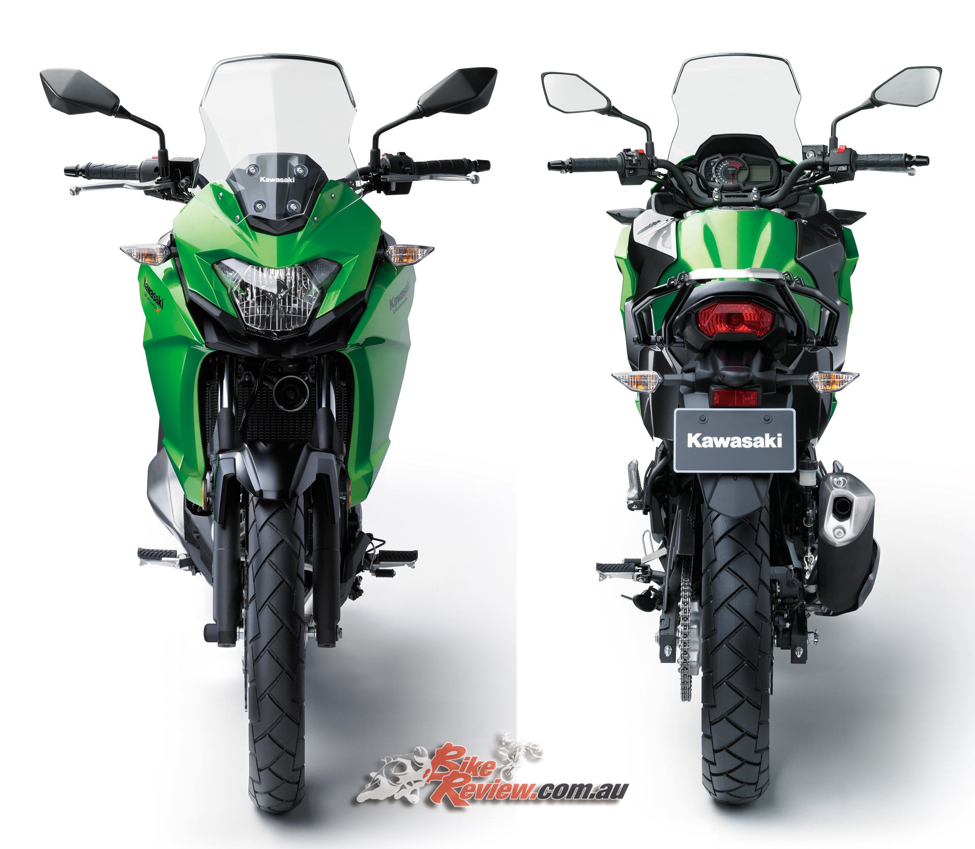 New For 2017 Kawasaki Versys X 300 Bike Review