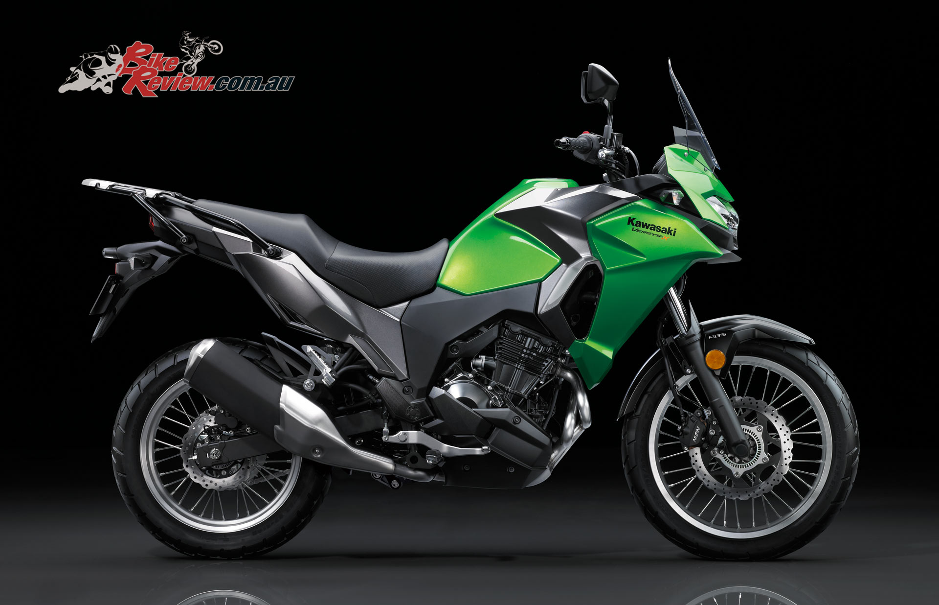 new for 2017 kawasaki versys x 300 bike review. Black Bedroom Furniture Sets. Home Design Ideas