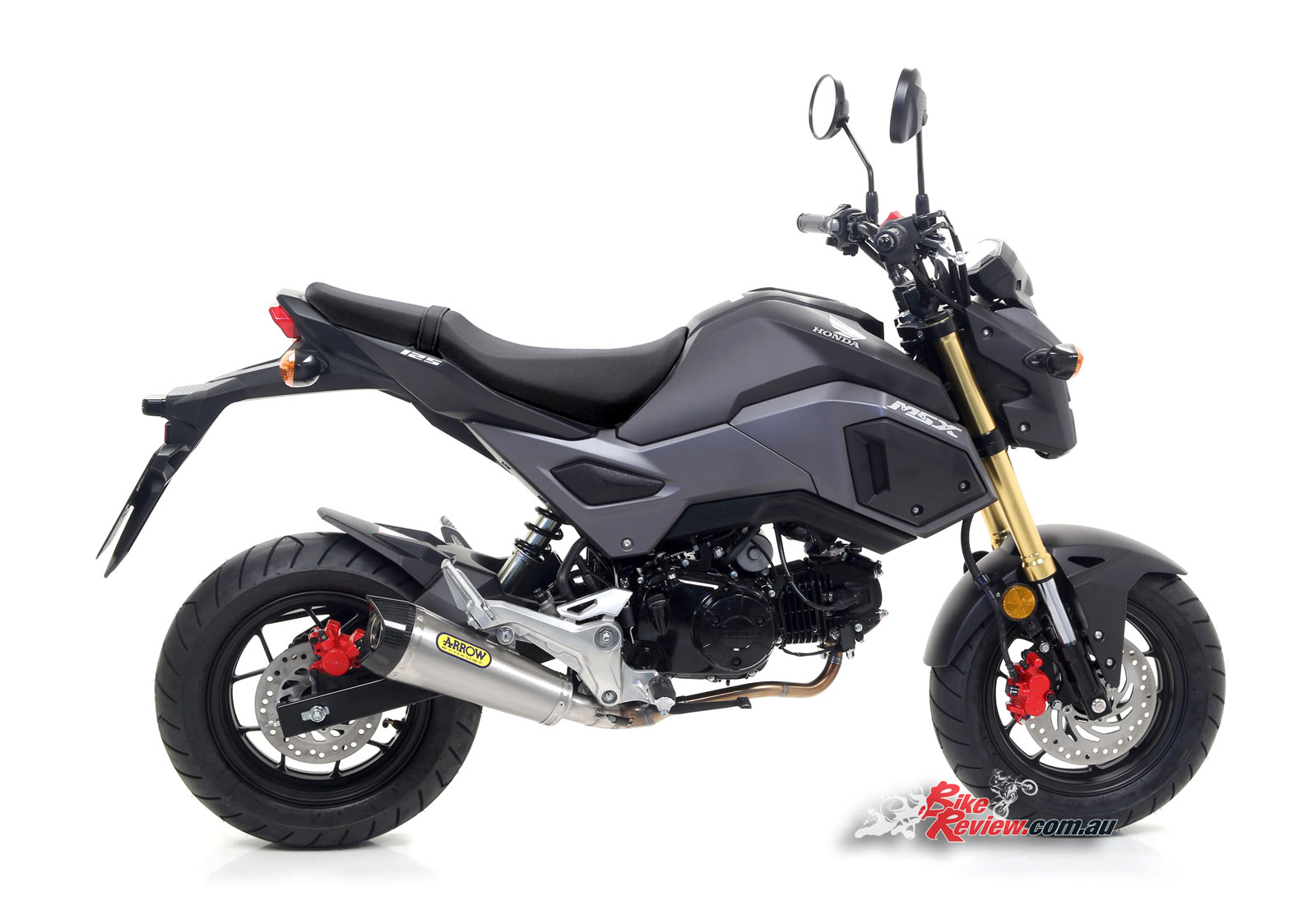 Honda Grom Review >> New Product: Full Arrow Exhaust for Honda Grom - Bike Review