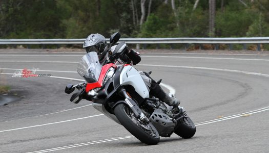 Video Review: Ducati Multistrada Enduro Part2, Chassis