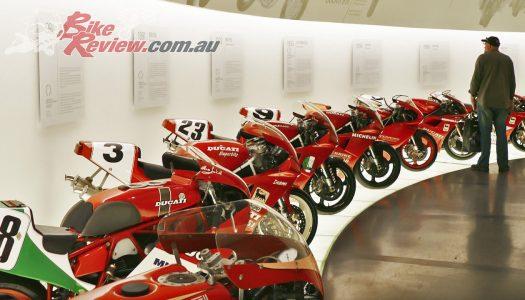 Pilgrimage to the Ducati Museum