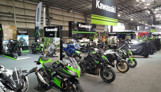 Kawasaki unveils at the 2016 Moto Expo Melbourne