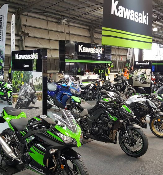 Kawasaki at the 2016 Melbourne Moto Expo - Image by Kawasaki