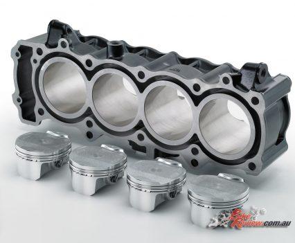 2017 Kawasaki Z900 - pistons and cylinders