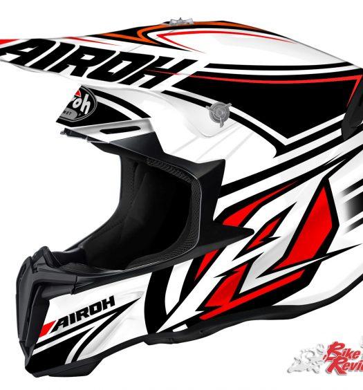 Airoh Twist helmet - Avanger White Gloss