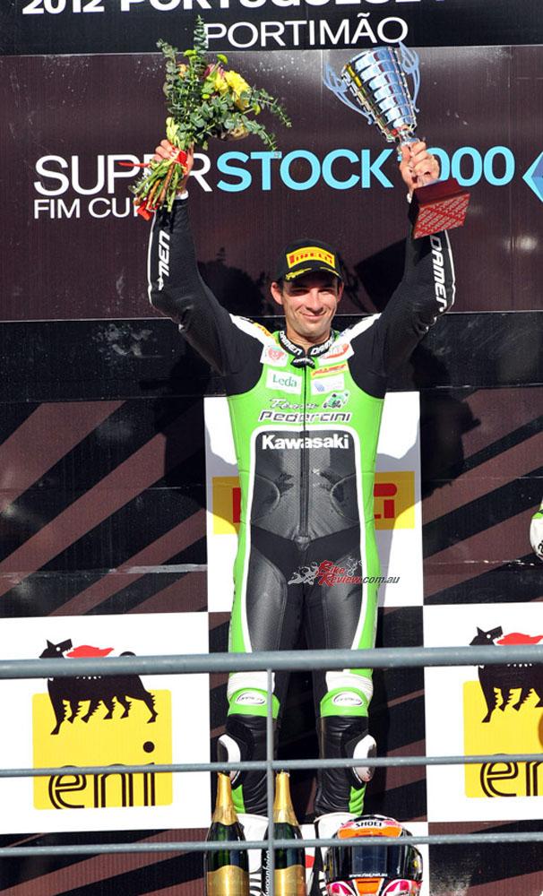 BC Performance Kawasaki SUperbike rider Bryan Staring had great years racing SSTK 1000 in Europe, mostly for Kawasaki teams.