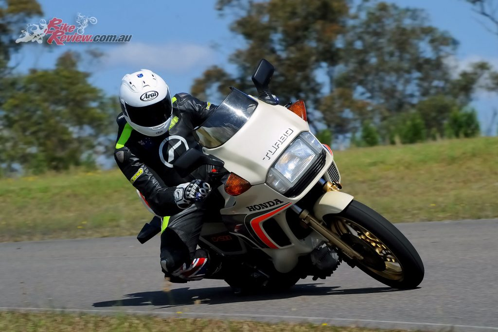 The CX500 truly is a great handling bike. The engine is also a cracker, although a little peaky. The big surprise to me was how good the EFI was. The bike had a nicer throttle than most modern machines.