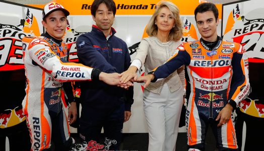 Honda and Repsol extend MotoGP contract to 2018
