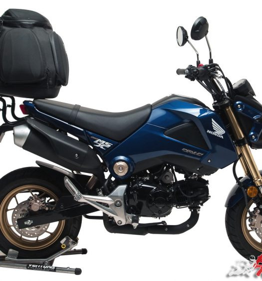 Ventura Bike-Rack luggage system on the Honda Grom