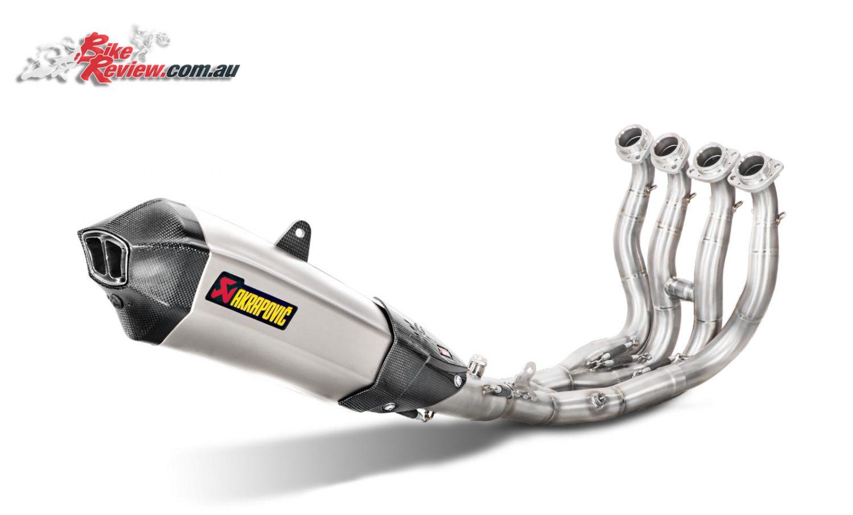 New Product: Yamaha MT-10 Akrapovic exhaust - Bike Review