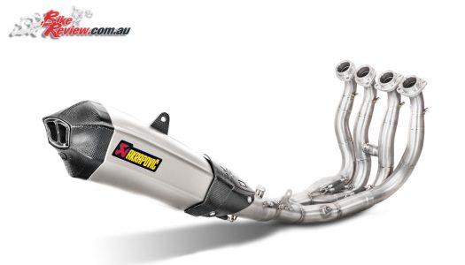 New Product: Yamaha MT-10 Akrapovic exhaust