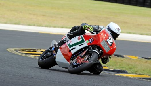 Racer Test: Bimota YB5 T-Rex Racing Classic Superbike