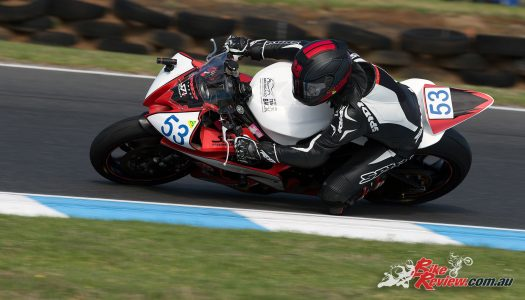 Coote Capitalises on Chiodo Crash for ASBK Supersport Win