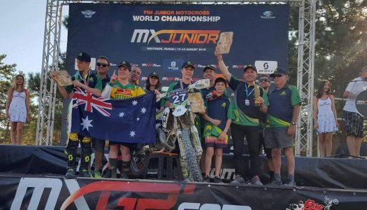 Applications open for 2017 FIM World Junior Motocross
