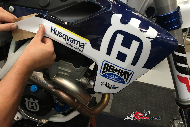 Honda Riding Gear >> Husqvarna and Bel-Ray extend partnership - Bike Review