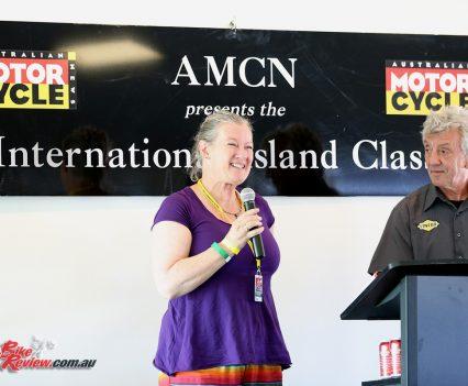 2017 Island Classic Award Ceremony - Karen Wootton