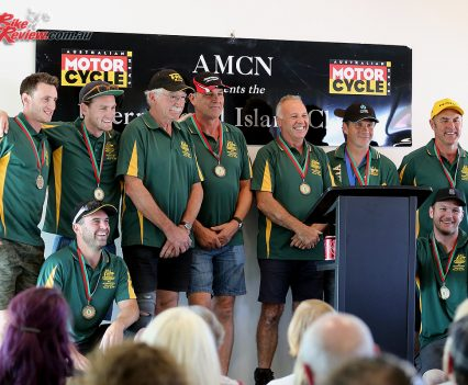 2017 Island Classic Award Ceremony - Team Australia