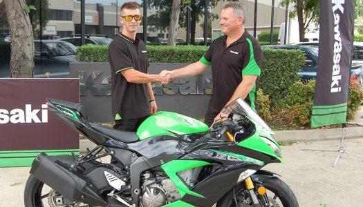 Freestyle Stunt Rider Jamie Baker Partners with Kawasaki