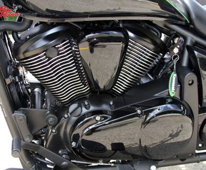 2017 Kawasaki Vulcan 900 Classic - 78Nm of torque is available from 3700rpm
