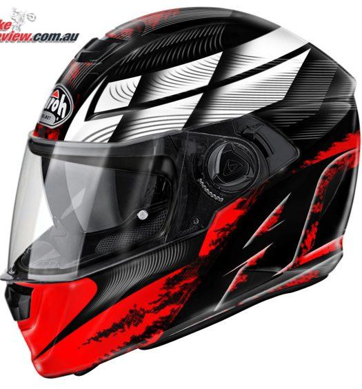 Airoh Storm Helmet - Starter Red Gloss