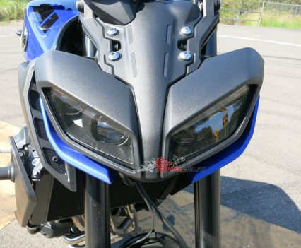 Styling has also seen much improvement on the MT-09