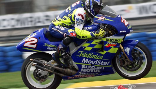 Kenny Roberts Jr, Marco Lucchinelli join MotoGP legends
