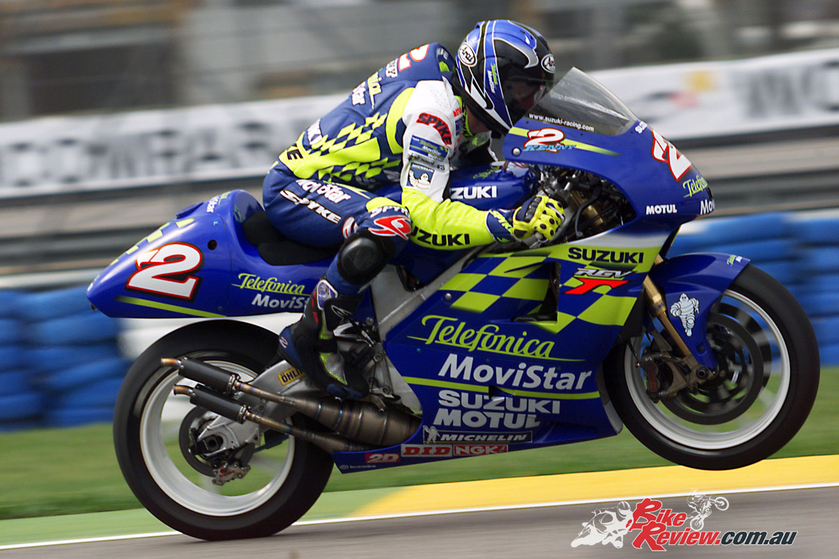 Kenny Roberts Jr Marco Lucchinelli Join Motogp Legends