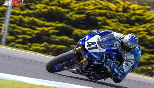 Yamaha Dominate ASBK Practice Day