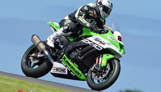 Kawasaki's Robbie Bugden second at ASBK Rnd 1