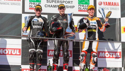 Supersport star Mason Coote talks Phillip Island