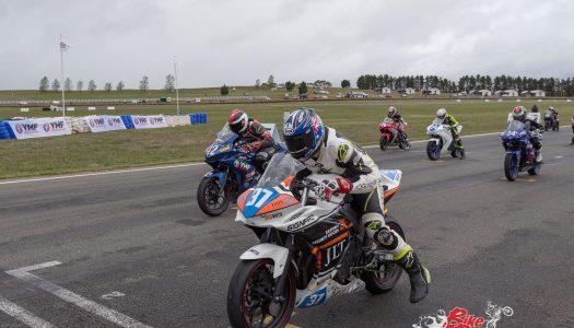 Battye wins Round 2's closing Supersport 300 race