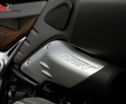 2017 BMW R nineT Scrambler - R nineT embossed air intake cover