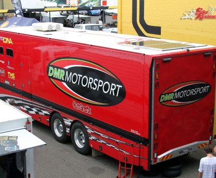 2017 International Festival of Speed - DMR Motorsport trailer