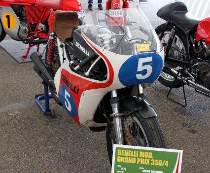 2017 International Festival of Speed - Benelli GP 350/4