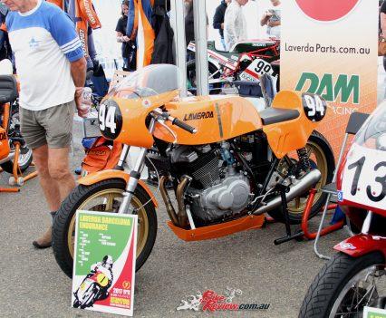 2017 International Festival of Speed - Laverda Barcelona Endurance machine