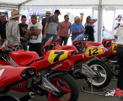 2017 International Festival of Speed - Cagiva display