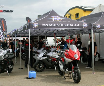 2017 International Festival of Speed - MV Agusta trade stand