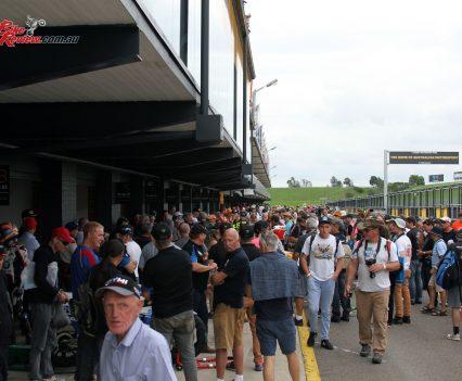 2017 International Festival of Speed - Pit lane