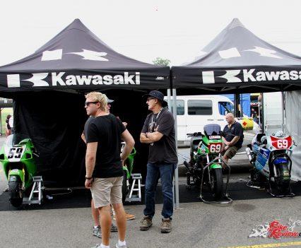 2017 International Festival of Speed - Kawasaki stand