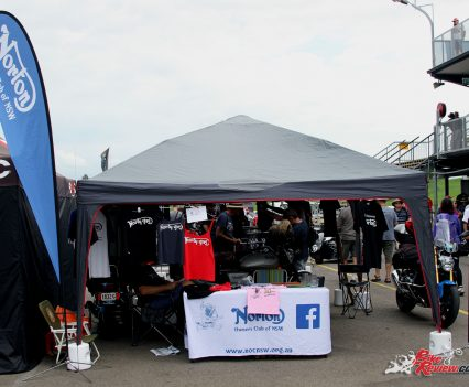 2017 International Festival of Speed - Norton Owners Club of NSW