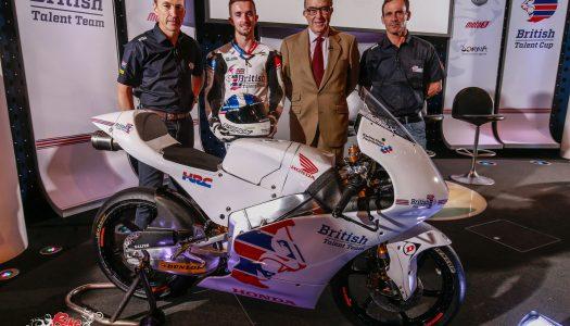 British Talent Team & Cup launch Road to MotoGP effort