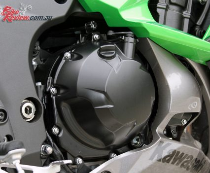 2017 Kawasaki Ninja 1000 - The four-cylinder donk offers linear power and great torque with predictable fueling